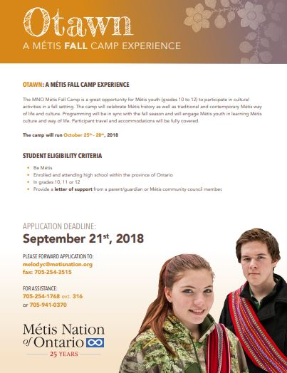 Metis Fall Camp